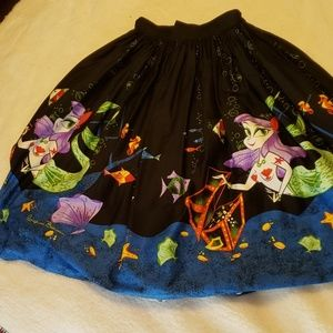 Pinup Couture Mermaid Mexican circle skirt